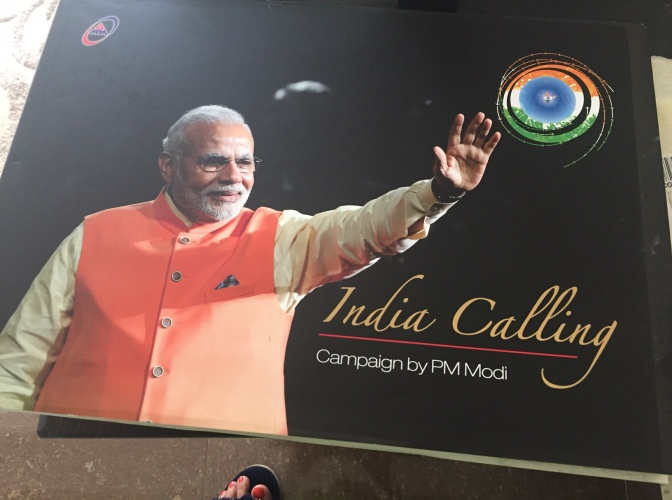 Got featured in a prestigious book on Modiji