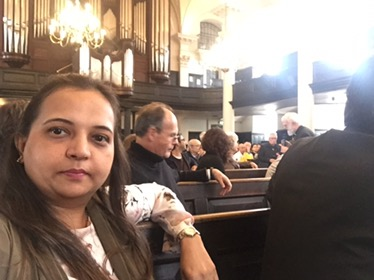 A talk on who is myneighbour by Gandhi Foundation at St. Martin in the fields