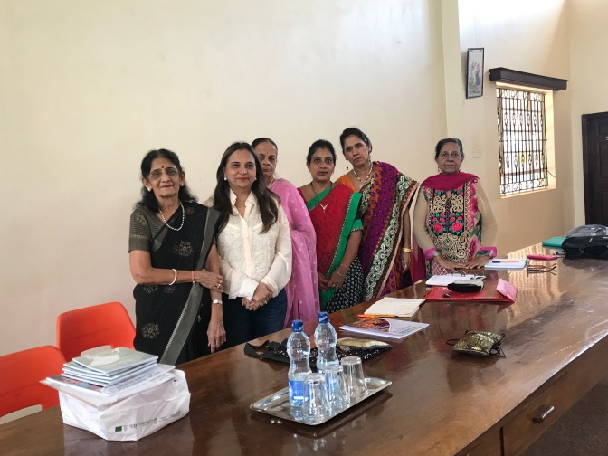 A small session on HCLS at Thika with Hindi Mahila mandal