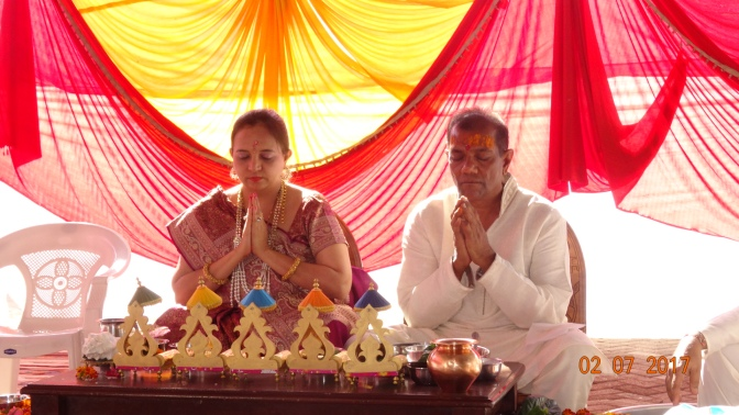 Fourth anniversary of Kamleshwar Shiv Temple In Kenya